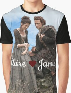 Outlander/Jamie & Claire Fraser Graphic T-Shirt