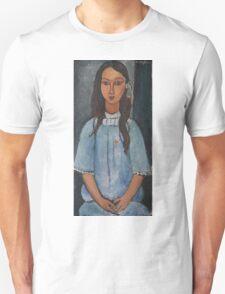 Amedeo Modigliani - Alice . Girl Portrait . Fashion . Modigliani , Alice  Unisex T-Shirt