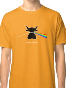 Dark Side of the Moo - T shirt Classic T-Shirt