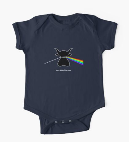 Dark Side of the Moo - T shirt One Piece - Short Sleeve