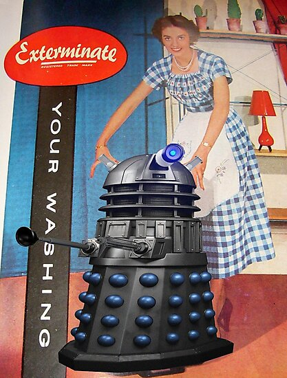 Exterminate .... your washing by VenusOak