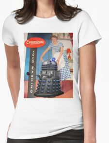 Exterminate .... your washing Womens Fitted T-Shirt