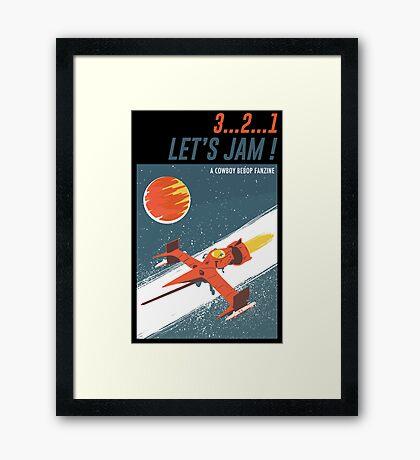Let's Jam - Cowboy Bebop Framed Print
