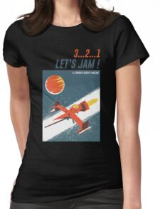 Let's Jam - Cowboy Bebop Womens Fitted T-Shirt