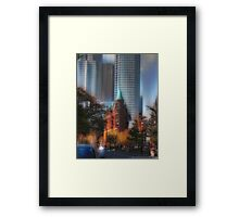 Flatiron Toronto CA  Framed Print