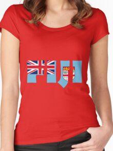 Fiji Women's Fitted Scoop T-Shirt