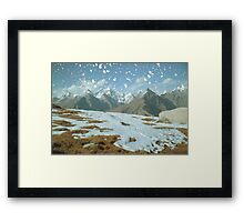 Magic in the Himalayas Framed Print