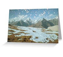 Magic in the Himalayas Greeting Card