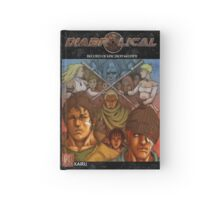 Diabrolical Manga Cover Draft Hardcover Journal