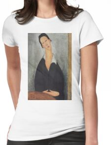 Amedeo Modigliani - Portrait of a Polish Woman 1919 Woman Portrait  Fashion  Womens Fitted T-Shirt
