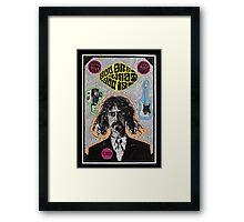 Tribute to Frank Zappa Framed Print