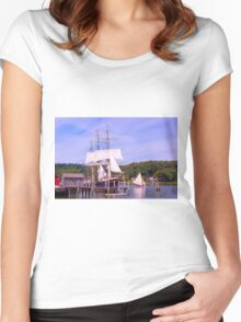 One Fine Day Women's Fitted Scoop T-Shirt