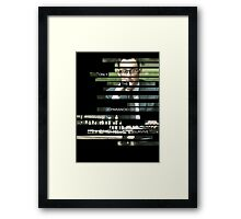 Finch - Person of Interes - Quote Framed Print