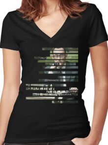 Finch - Person of Interes - Quote Women's Fitted V-Neck T-Shirt
