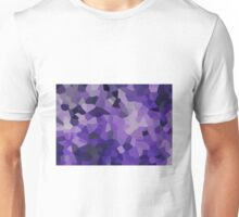 Small Purple Crystals Unisex T-Shirt