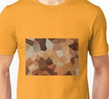 Large Orange Crystals Unisex T-Shirt