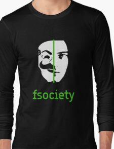 We Are The fsociety Long Sleeve T-Shirt