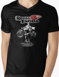 ENFIELD.. Mens V-Neck T-Shirt