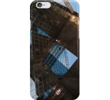 Glass, Copper and Steel Geometry - Fabulous Modern Architecture in London, UK - Vertical iPhone Case/Skin