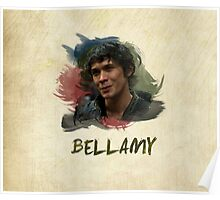 Bellamy - The 100 Poster