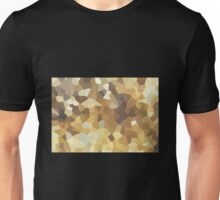 Small Brown Crystals Unisex T-Shirt