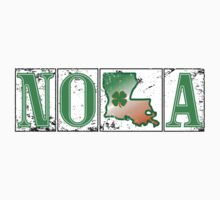 Irish NOLA Street Tiles  One Piece - Short Sleeve