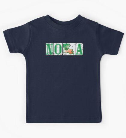 Irish NOLA Street Tiles  Kids Tee