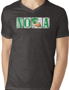 Irish NOLA Street Tiles  Mens V-Neck T-Shirt
