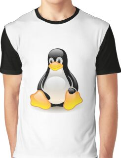 Linux Logo Graphic T-Shirt
