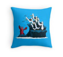 The crab is mine! Throw Pillow