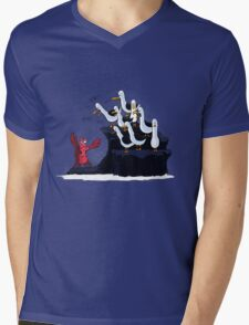 The crab is mine! Mens V-Neck T-Shirt