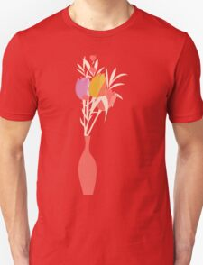 Spring flower pattern, tulips and lilies, 004 T-Shirt
