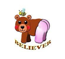 bee bear believer Photographic Print