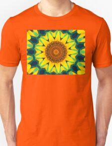 Fun Sunflower Abstract Unisex T-Shirt