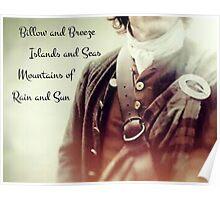 Outlander/Jamie Fraser/Opening song Poster