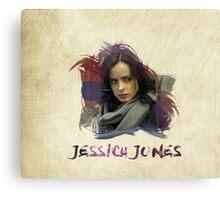 Jessica Jones - Brush Canvas Print