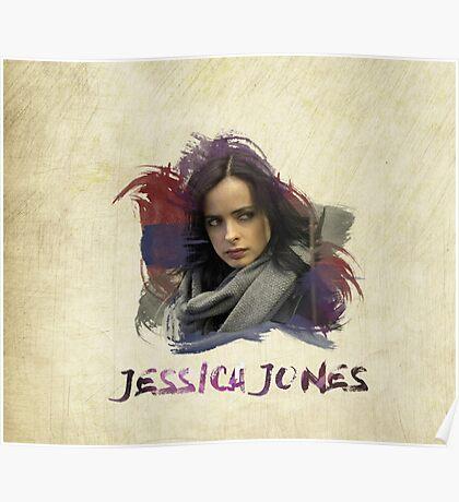 Jessica Jones - Brush Poster