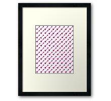 Thousand Arrows (Purple) Framed Print