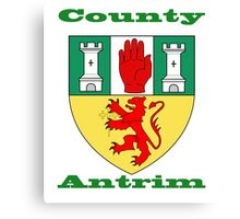 County Antrim Coat of Arms Canvas Print
