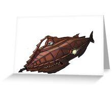 Carsified - The Nautilus - No BG Greeting Card