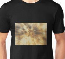 Brown Radial Zoom Unisex T-Shirt