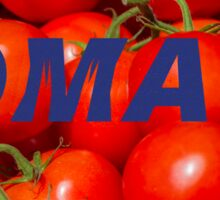 tomatoes background Sticker