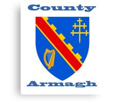County Armagh Coat of Arms Canvas Print