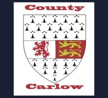 County Carlow Coat of Arms Kids Tee
