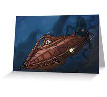 Carsified - The Nautilus Greeting Card