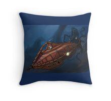 Carsified - The Nautilus Throw Pillow