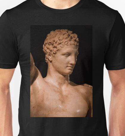 Greece. Ancient Olympia. Hermes by Praxiteles. Detail. T-Shirt