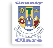 County Clare Coat of Arms Canvas Print