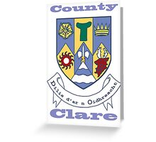 County Clare Coat of Arms Greeting Card