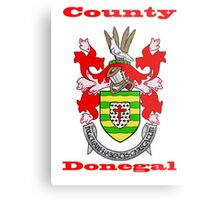 County Donegal Coat of Arms Metal Print